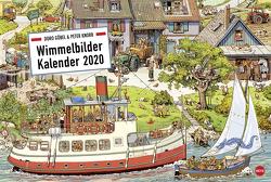 Göbel & Knorr Wimmelbilder Edition Kalender 2021 von Göbel,  Doro, Heye, Knorr,  Peter