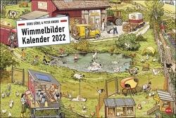 Göbel & Knorr Wimmelbilder Edition Kalender 2022 von Göbel,  Doro, Heye, Knorr,  Peter