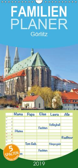 Görlitz – Die Perle Niederschlesiens – Familienplaner hoch (Wandkalender 2019 , 21 cm x 45 cm, hoch) von LianeM
