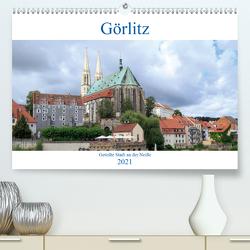 Görlitz – geteilte Stadt an der Neiße (Premium, hochwertiger DIN A2 Wandkalender 2021, Kunstdruck in Hochglanz) von Rebel - we're photography,  Werner