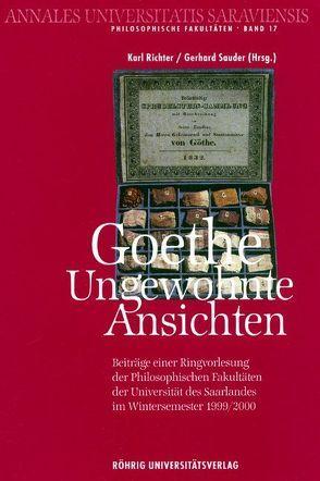 Goethe von Richter,  Karl, Sauder,  Gerhard