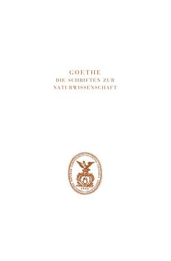 Zur Naturwissenschaft im Allgeneinen von Eckle,  Jutta, Engelhardt,  Wolf von, Kuhn,  Dorothea, Müller,  Irmgard, Troll,  Wilhelm, Wolf,  K. Lothar