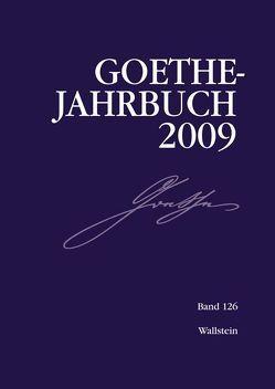 Goethe-Jahrbuch von Frick,  Werner, Golz,  Jochen, Meier,  Albert, Zehm,  Edith