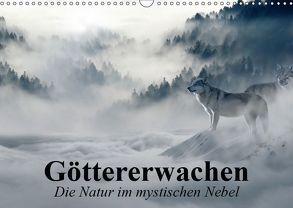 Göttererwachen. Die Natur im mystischen Nebel (Wandkalender 2019 DIN A3 quer) von Stanzer,  Elisabeth