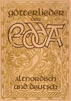 Götterlieder der Edda – Altnordisch und deutsch von Nahodyl Neményi,  Árpád Baron von
