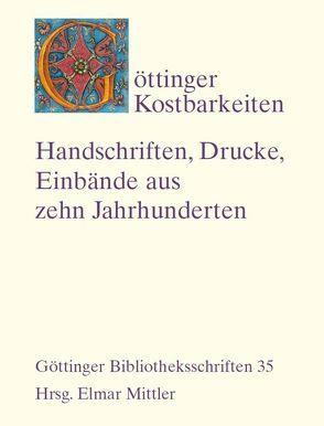 Göttinger Kostbarkeiten von Glitsch,  Silke, Migl,  Joachim, Rohlfing,  Helmut