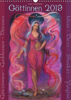 Göttinnnen · Shiva · Shakti · Yogini 2019 (Wandkalender 2019 DIN A3 hoch) von Engelhardt,  Peter