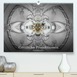 Göttliche Projektionen – Kirchenpanoramen (Premium, hochwertiger DIN A2 Wandkalender 2020, Kunstdruck in Hochglanz) von Christen,  Ernst