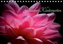 Göttlicher Klostergarten (Tischkalender 2021 DIN A5 quer) von Herzog,  Uwe