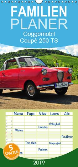 Goggomobil Coupè 250 TS – Familienplaner hoch (Wandkalender 2019 , 21 cm x 45 cm, hoch) von Laue,  Ingo