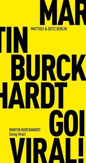 Going Viral! von Burckhardt,  Martin