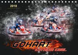GoKart – extrem cool (Tischkalender 2018 DIN A5 quer) von Roder,  Peter