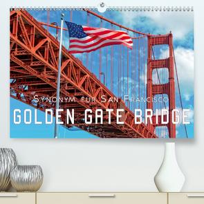 Golden Gate Bridge – Synonym für San Francisco (Premium, hochwertiger DIN A2 Wandkalender 2021, Kunstdruck in Hochglanz) von Roder,  Peter