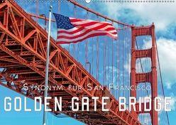 Golden Gate Bridge – Synonym für San Francisco (Wandkalender 2018 DIN A2 quer) von Roder,  Peter