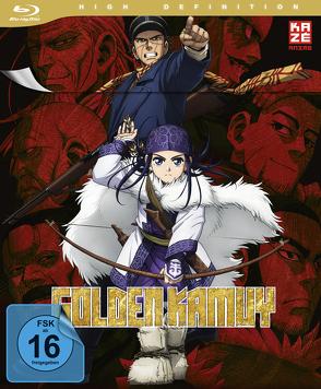 Golden Kamuy – Blu-ray 1 mit Sammelschuber (Limited Edition) von Nanba,  Hitoshi