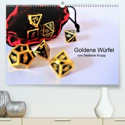 Goldene Würfel von Stefanie Kropp (Premium, hochwertiger DIN A2 Wandkalender 2020, Kunstdruck in Hochglanz) von Kropp,  Stefanie