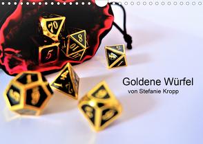 Goldene Würfel von Stefanie Kropp (Wandkalender 2020 DIN A4 quer)