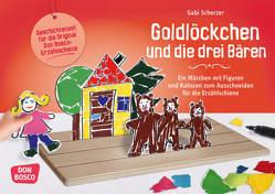 Goldlöckchen und die drei Bären von Scherzer,  Gabi