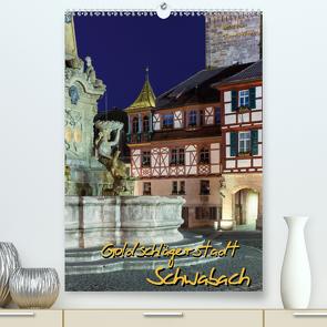 Goldschlägerstadt Schwabach (Premium, hochwertiger DIN A2 Wandkalender 2020, Kunstdruck in Hochglanz) von Klinder,  Thomas