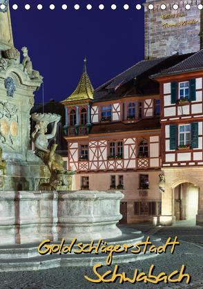 Goldschlägerstadt Schwabach (Tischkalender 2020 DIN A5 hoch) von Klinder,  Thomas