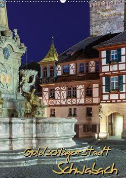 Goldschlägerstadt Schwabach (Wandkalender 2018 DIN A2 hoch) von Klinder,  Thomas