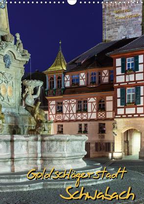 Goldschlägerstadt Schwabach (Wandkalender 2020 DIN A3 hoch) von Klinder,  Thomas