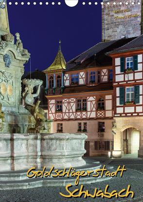 Goldschlägerstadt Schwabach (Wandkalender 2020 DIN A4 hoch) von Klinder,  Thomas