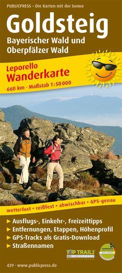 Goldsteig, Bayerischer Wald und Oberpfälzer Wald