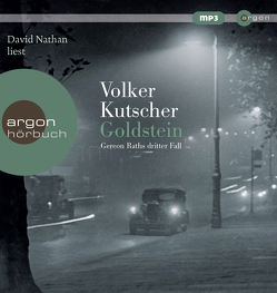 Hörbestseller MP3-Ausgabe / Goldstein von Kutscher,  Volker, Nathan,  David