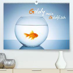 Goldy – mein Goldfisch (Premium, hochwertiger DIN A2 Wandkalender 2020, Kunstdruck in Hochglanz) von rclassen