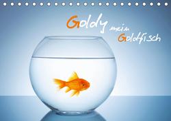 Goldy – mein Goldfisch (Tischkalender 2021 DIN A5 quer) von rclassen