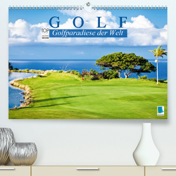 Golf: Golfparadiese der Welt (Premium, hochwertiger DIN A2 Wandkalender 2020, Kunstdruck in Hochglanz) von CALVENDO