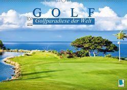 Golf: Golfparadiese der Welt (Wandkalender 2019 DIN A2 quer) von CALVENDO