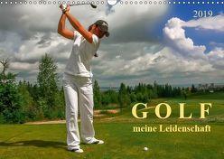Golf – meine Leidenschaft (Wandkalender 2019 DIN A3 quer) von Roder,  Peter