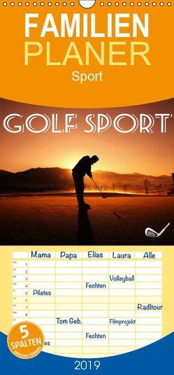 Golf Sport – Familienplaner hoch (Wandkalender 2019 , 21 cm x 45 cm, hoch) von Robert,  Boris
