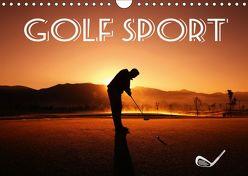 Golf Sport (Wandkalender 2019 DIN A4 quer) von Robert,  Boris