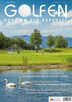 Golfen rund um den Bodensee 2018 von Herr,  Gerhard