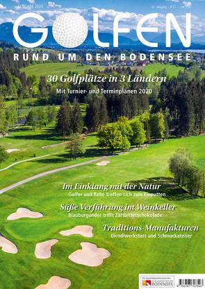 Golfen rund um den Bodensee 2020 von Herr,  Gerhard