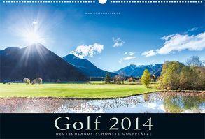 Golfkalender 2014 von Dörnte,  Ralph