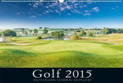 Golfkalender 2015 von Dörnte,  Ralph