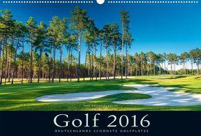 Golfkalender 2016 von Dörnte,  Ralph