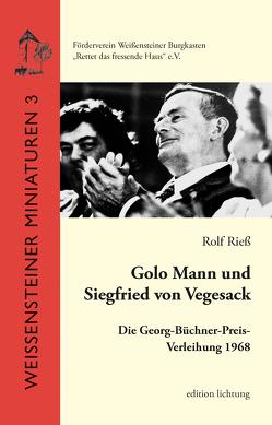 Golo Mann und Siegfried von Vegesack von Rieß,  Rolf