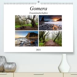 Gomera Traumlandschaften (Premium, hochwertiger DIN A2 Wandkalender 2021, Kunstdruck in Hochglanz) von Rosenberg,  Raico