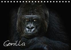 Gorilla (Tischkalender 2019 DIN A5 quer) von Pinkawa / Jo.PinX,  Joachim