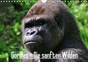 Gorillas – Die sanften Wilden (Wandkalender 2018 DIN A4 quer) von Hebgen,  Peter