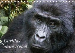 Gorillas ohne Nebel (Tischkalender 2018 DIN A5 quer) von Helmut Gulbins,  Dr.