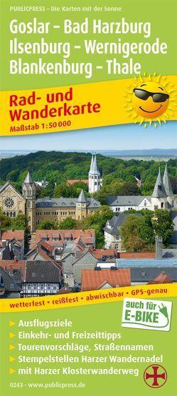 Goslar – Bad Harzburg – Ilsenburg – Wernigerode, Blankenburg – Thale