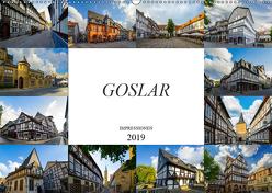 Goslar Impressionen (Wandkalender 2019 DIN A2 quer) von Meutzner,  Dirk