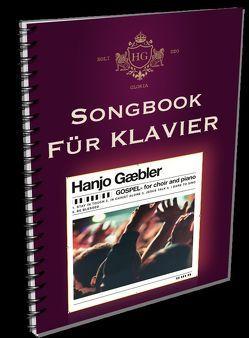 Gospel for choir and piano – Klavierausgabe von Gäbler,  Hanjo