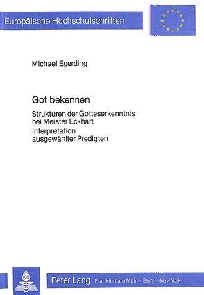 Got Bekennen von Egerding,  Michael